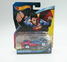 Hot Wheels DC Comics Superman Man of Steel Car 2014 NEW FREE SHIP