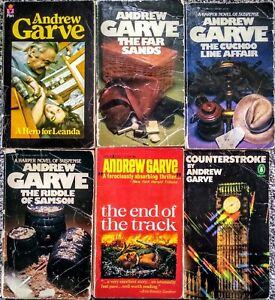Andrew Garve Book Lot of 6