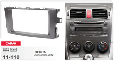 CARAV 11-110 2Din Marco Adaptador Kit Instalacion Radio TOYOTA Auris 2006-2012