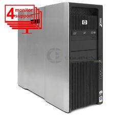 HP Workstation Z800 2xQC x5560 2.8GHz 12GB RAM 2x500GB SATA Quadro K5000 Win10