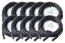 Pronomic cable de Micrófono Xfxm-20 XLR 20 m (10 cables)