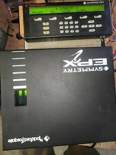 ROCKFORD FOSGATE SYMMETRY EPX2  28 BAND EQUALIZER-CROSSOVER!