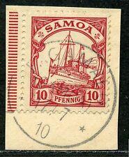 Samoa Mi 9  Luxusbriefstück  Fagamalo  Arge 40,-
