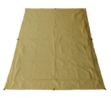 "5col Ultralight Tarp Coyote RipStop Nylon Backpacking Rain Fly Shelter 4'6"" x7'"