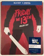 Friday the 13th Killer Cut Blu-ray/Digital  Best Buy Steelbook Brand New Sealed