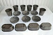 More details for collection of paisley flour (brown & polson) cake moulds