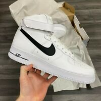 NIKE AIR FORCE 1 HIGH '07 AN20 WHITE MEN'S TRAINERS SIZE UK11.5 US12.5 EU47