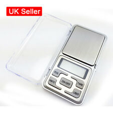 Mini Digital Scale Pocket Weighing Jewelry Kitchen LCD Scales 0.01g-200g +AAA UK