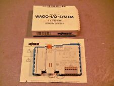 WAGO 750-535 Digital 2 Channel I/O Output Module 24V Intrinsically Safe