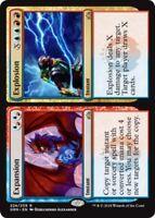 1x Expansion // Explosion - Foil MTG Guilds of Ravnica NM Magic Foil