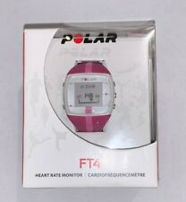 POLAR Fitness Heart Rate Monitor FT4F Pink Watch - Chest Strap - Complete - NIB