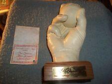 OFFICAL MIKE SCHMIDT HAND CAST SCULPTOR BY CLINTON J SHEELY 1989