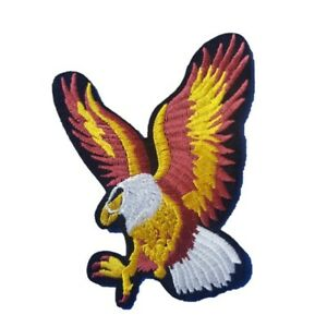 Eagle Soaring Iron On Patch Sew on Transfer Animal Iron on Patch
