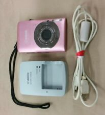 Canon PowerShot Digital ELPH SD1300 IS 12.1MP Digital Camera Pink TESTED GOOD