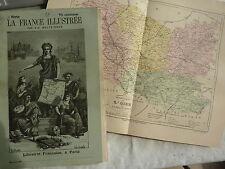 France illustrée - MALTE BRUN - fasc texte carte gravures Dépt : OISE