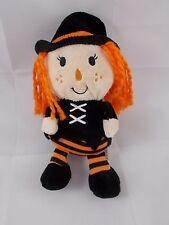 """Dan Dee Halloween Witch Girl Plush 9.5"""""""