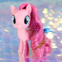 My Little Pony PINKIE PIE Pink Balloons Glitter Tinsel G4.5 FiM MLP Movie BA968