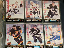 Hockey card Pinacle Team Pinnacle 92-93 set
