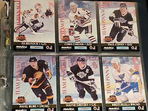 Hockey card Pinacle Team Pinnacle 92-93 set