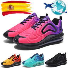 Zapatillas deportivas con cojín de aire para mujer para hombre informales libre