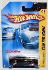 HOT WHEELS 2008 NEW MODELS '07 SHELBY GT-500 #01/40 BLACK FACTORY SEALED W+