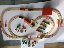 Wooden train track bundle