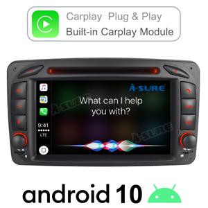Car Stereo Android DVD BT GPS Sat Nav Mercedes Benz C Class W203 W209 Viano Vito