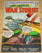 Star Spangled War Stories #9 VG- may 1953  golden age dc comics - sad sack squad