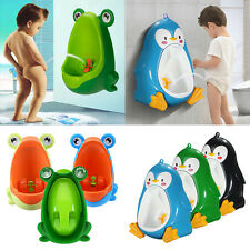 Frog Penguin Kids Children Toddler Boy Potty Toilet Training Urinal Pee Bathroom