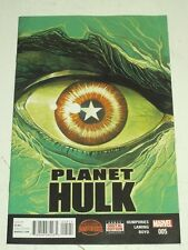 PLANET HULK #5 MARVEL COMICS SECRET WARS NM (9.4)