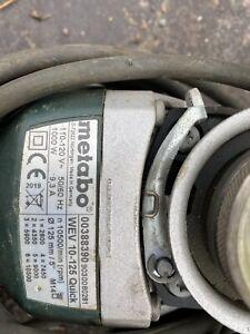 """Metabo 5"""" 110 V Grinder Variable Speed"""