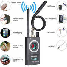 RF Signal detector Bug Anti-spy Detector Camera GSM Audio Bug Finder GPS Scan.