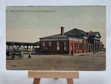 (PC) Norfolk & Western R. R.Station, Petersburg,Va.*Combined Shipping Available*