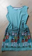 Tunika ♥Sommerkleid ♥ Gr140-146♥ Farbenmix ♥ Jerseykleid ♥ Girly♥ Hängerchen