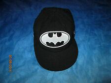 BATMAN BLACK NEW ERA CAP SIZE 7 1/8 FREE P+P