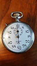 Jules Racine Security Swiss Stop Watch ~ FOR PARTS NOT WORKING