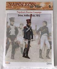 RUSSIAN DRIVER ARTILLERY TRAIN 1812 Napoleon At War Del Prado Magazine #6 ONLY