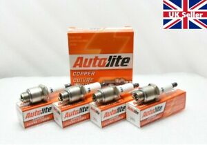 Autolite 295 Spark Plugs x 4 For Jeep MB/GPW & Other ModelsA538