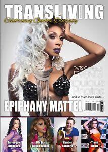 Transliving 60 Magazine Transgender, Non-Binary, X-Dress, Transvestite Lifestyle
