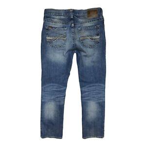 Ariat Men's 34x34 M4 Low Rise Straight Blue Jeans