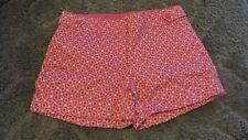 New York & Company pink patterned shorts size 0