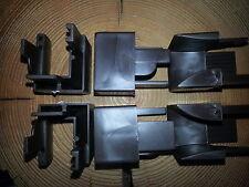 Rolladen Einlauftrichter BRAUN Satz 2 ST. PVC Rechts und Links 31mmx 37mm  Menke