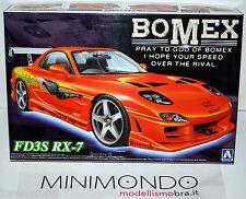KIT BOMEX FD3S RX-7 MAZDA 1/24 AOSHIMA AO00586 SERIE N.80 RX7