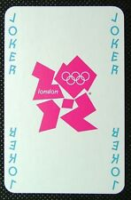 1 x playing card London 2012 Olympic Legends Joker 1