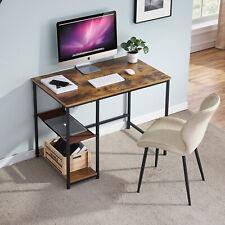 Computertisch Schreibtisch Bürotisch Eckschreibtisch Arbeitstisch Dunkelholz