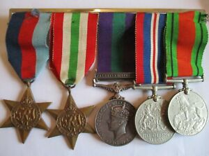 WW2 Group of Five Medals to Rutter REME