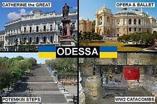 SOUVENIR FRIDGE MAGNET of ODESSA UKRAINE