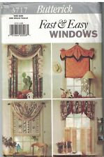 3717 sin Cortar Vintage Butterick Patrón de Costura País Occidental Windows Velo