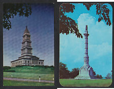 Vintage Postcard Lot VA ALEXANDRIA Washington Masonic Mem. YORKTOWN Victory Mont