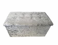 Grey Ottomans And Footstools Ebay